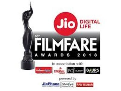 63rd Jio Filmfare Awards 2018