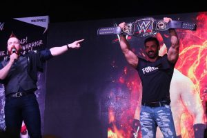 Sheamus met John when he was in India in 2016 in Mumbai and are great buddies now.