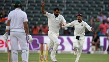 Ind versus SA Mohammed Shami's 5-wicket pull enables India to beat South Africa in third Test
