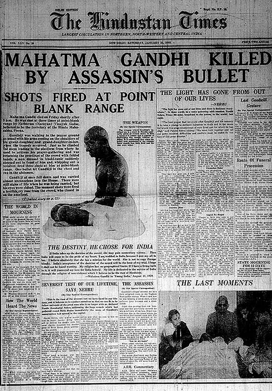 Mahatma Gandhi's Assassination (1948)