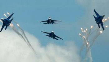 Russian Su-27 fighter jet intercepts US spy plane, Washington protests 'unsafe interaction'