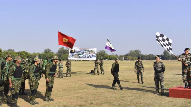 Indian Army's unique 400 km walk to recognize 'Chindits' of World War-II