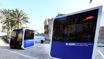 World's First 'Driverless Transport Pods' tried in Dubai