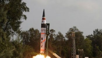 India test-fires atomic competent Agni-II rocket