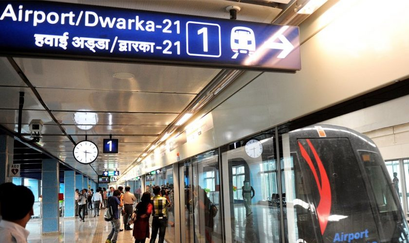 Stunning! Man's body, spoiling in Delhi Metro Airport Line burrow for a considerable length of time, found