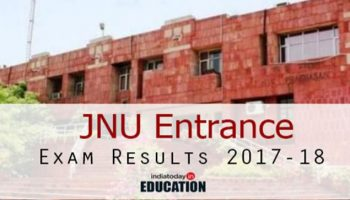 JNU Entrance Exam Results 2017-18 pronounced at jnu.ac.in: Steps to check