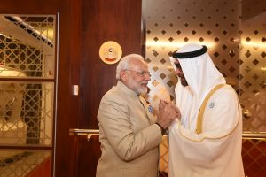 PM meets Crown Prince of Abu Dhabi; India, UAE sign 5 settlements