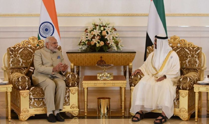PM meets Crown Prince of Abu Dhabi; India, UAE sign 5 settlements2