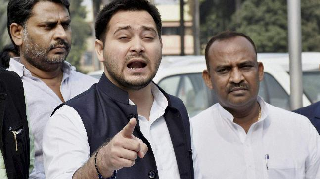 Muzaffarpur accident: Car that cut down 9 youngsters had a place with BJP pioneer, says Tejashwi Yadav