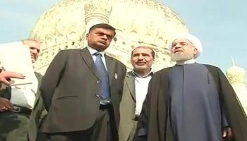Hassan Rouhani's India Visit LIVE Updates: Iran President Visits Hyderabad Today