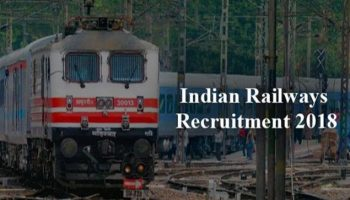 Indian Railways Recruitment 2018: Class 10 understudies required, apply before March 12.