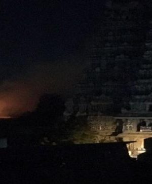 Real fire at notable Meenakshi sanctuary brought under control, no setbacks detailed