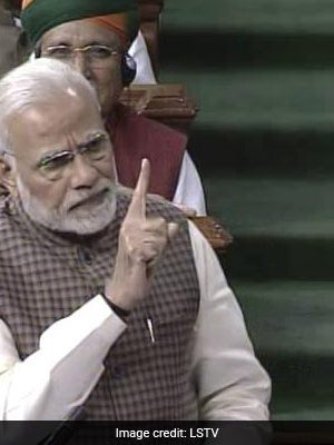 """""""You Divided Nation For Selfish Gains"""": PM Modi Targets Congress"""
