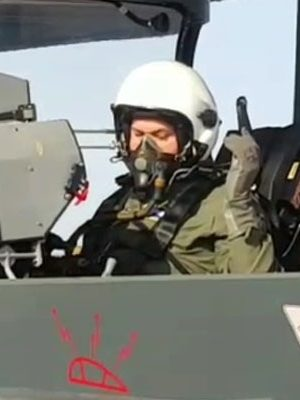 US Air Force Chief Flies In 'Made-In-India' Tejas Aircraft In Jodhpur