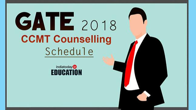GATE 2018: CCMT directing calendar discharged at ccmt.nic.in:, check vital dates here