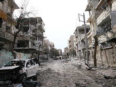 Shelling proceeds in Syria's Eastern Ghouta locale in spite of UN truce arrange, help supplies blocked
