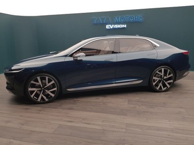 Tata Motors divulges modern all-electric EVision Concept medium size vehicle at 2018 Geneva International Motor Show