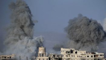 Syrian Regime Forces Advance In Battered Ghouta