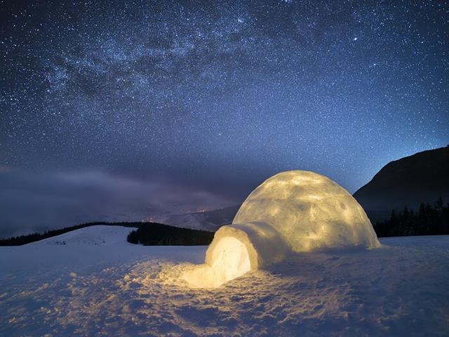 ISRO Experimenting With Igloo-Like Shelters For Living On The Moon