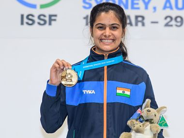 ISSF junior shooting World Cup: Manu Bhaker, Anmol secure India seventh gold award by winning 10m air gun occasion