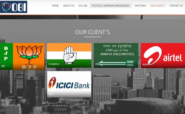 BJP, Congress Deny Links To Cambridge Analytica, Records Show Otherwise