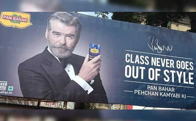 "Pierce Brosnan Says He Was ""Deceived"" By Pan Masala Brand"