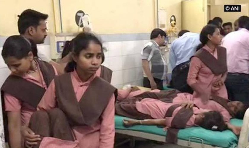 More than 40 understudies hospitalized in Uttar Pradesh's Etah because of sustenance harming subsequent to devouring early afternoon dinner