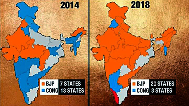 Saffron surge: What India's political guide could look like after Meghalaya, Nagaland and Tripura surveys
