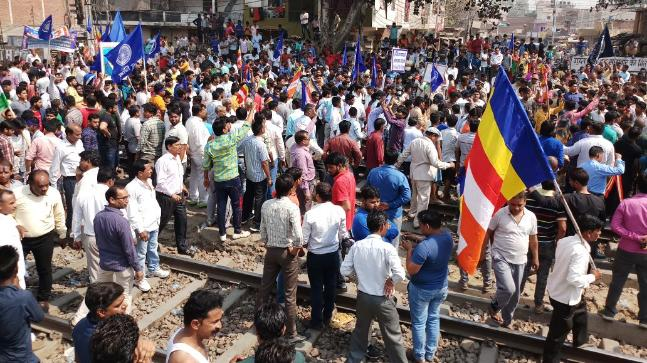 Bharat Bandh hands brutal over a few states as Center records SC/ST Act survey request