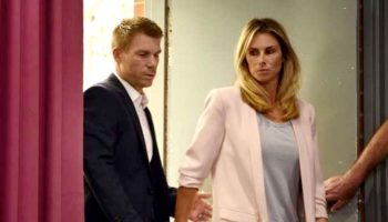 David Warner's Wife Candice Blames Herself For Husband's Ball-Tampering Crisis