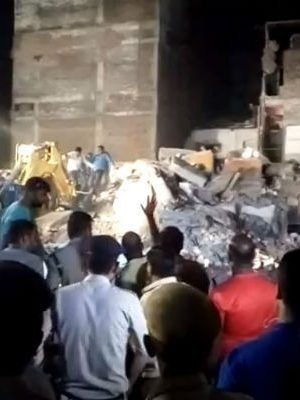 Indore Hotel Building Collapse