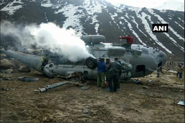 Uttarakhand: IAF's Mi 17 chopper crash-lands in Kedarnath; four, including pilot, suffer minor injuries