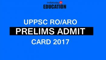 UPPSC RO/ARO Prelims Admit Card 2017 discharged at uppsc.up.nic.in: How to download