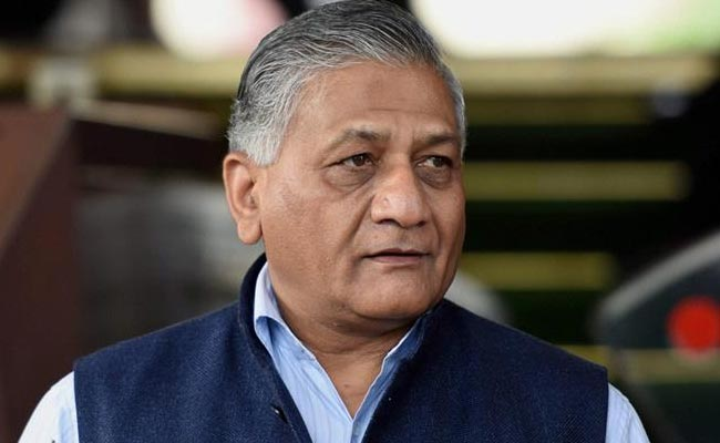 VK Singh is expected to bring the bodies back to India today.