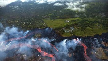Hawaii Volcano Update: Lava Speeds into Village Destroying Homes