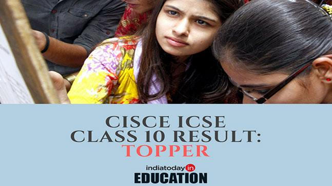 CISCE ICSE Class 10 topper reported: Check your outcomes at cisce.org