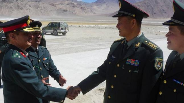 Indian agent backs resumption of military ties with China