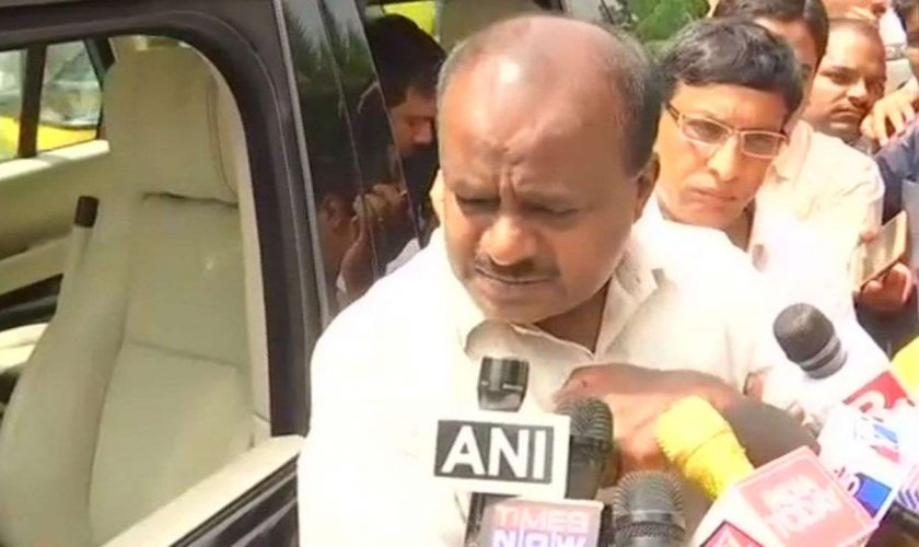 Karnataka govt development refreshes Kumaraswamy guarantees 'adjust' between Congress, JD(S) plan
