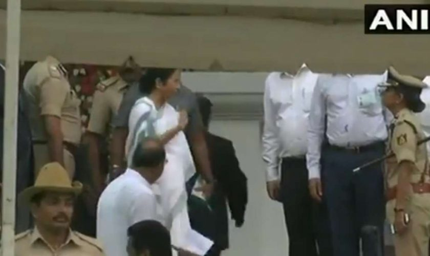 Mamata Banerjee loses cool in the wake of being compelled to walk, hammers Karnataka DGP