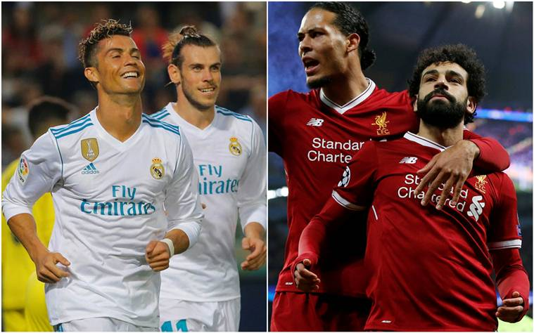 Real Madrid versus Liverpool, Champions League last Live score Liverpool commence the match in Kiev