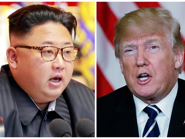 Donald Trump wipes out 12 June summit with North Korea's Kim Jong-un; refers to 'gigantic outrage and open antagonistic vibe'