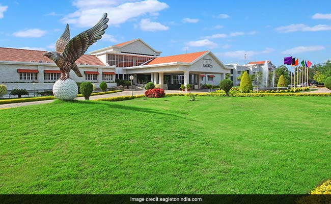 Earlier, the Congress MLAs were sequestered at Eagleton resort in Bengaluru