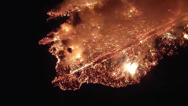 Hawaii Volcano Update: Magma flows are Hottest, Blazing Fastest