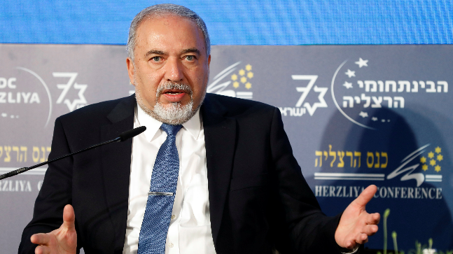 Israel's defence minister Avigdor Lieberman called on Syria's President Bashar Assad to rid his country of Iranian forces