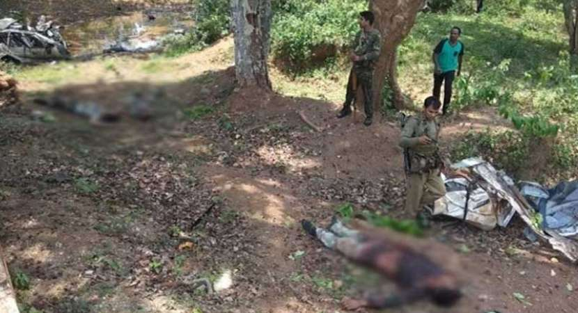 6 Security Personnel Killed In Landmine Blast By Maoists In Chhattisgarh's Dantewada