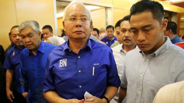 Previous Malaysian PM Razak restricted from leaving nation