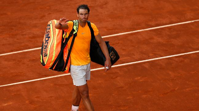Rafael Nadal not fussing over misfortune to Dominic Thiem in Madrid