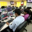Sensex Falls 100 Points, Nifty Near 10,650; Wipro Shares Down 2%