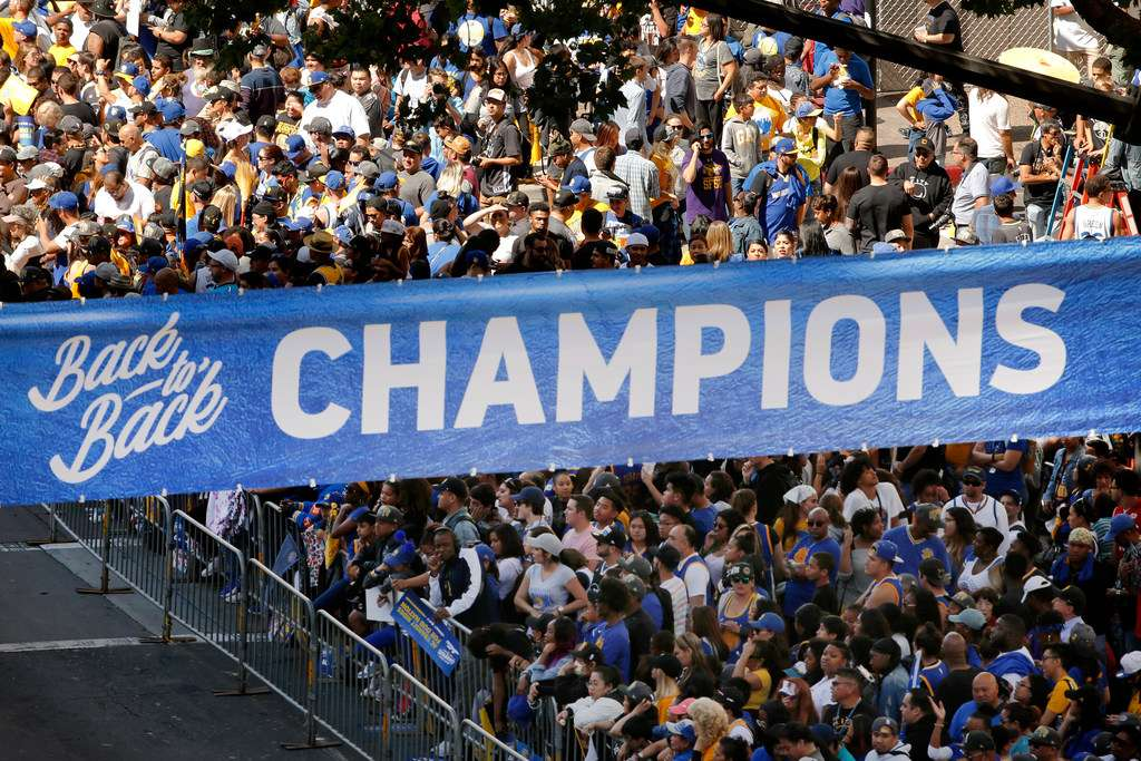 Warriors Parade: Highlights from OaklandWarriors Parade: Highlights from Oakland