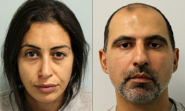 London couple jailed for life